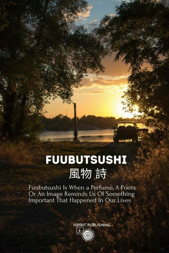 Enchanted Japanese words -Fuubutsushi 風物 詩