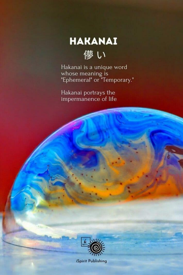 Poetic Japanese Words-Hakanai 儚 い