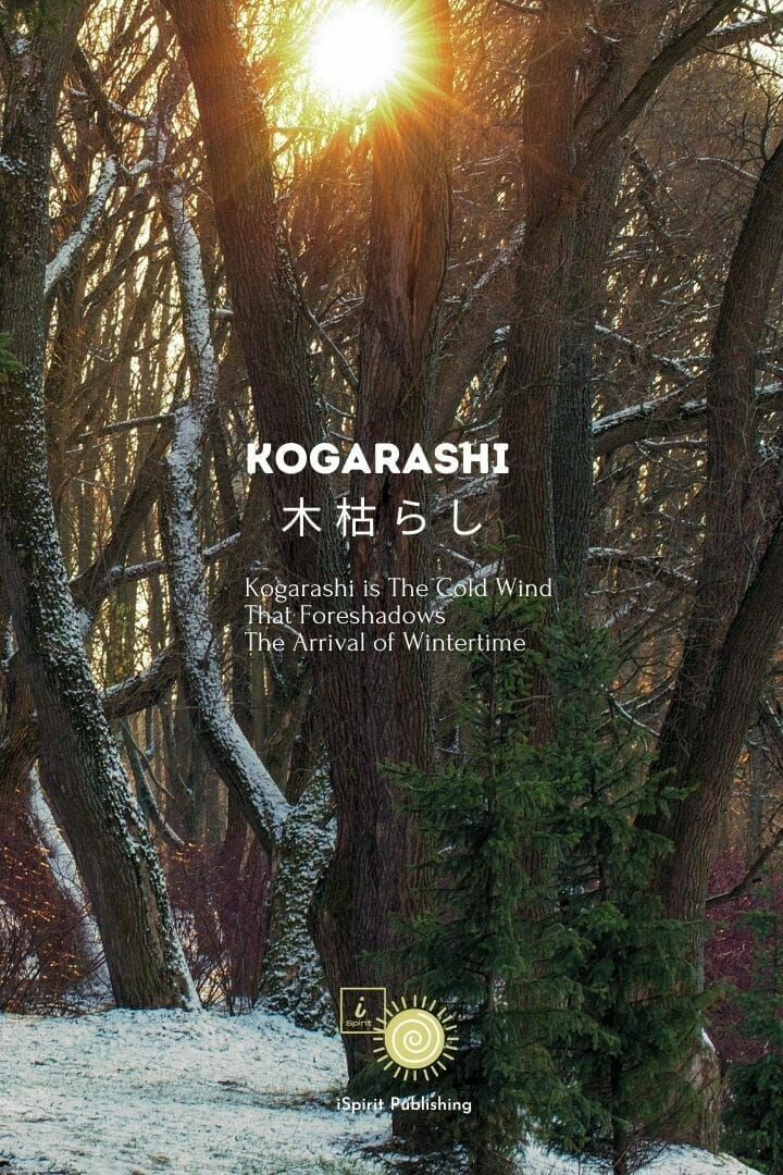 Kogarashi 木 枯 ら し-Japanese poetic words