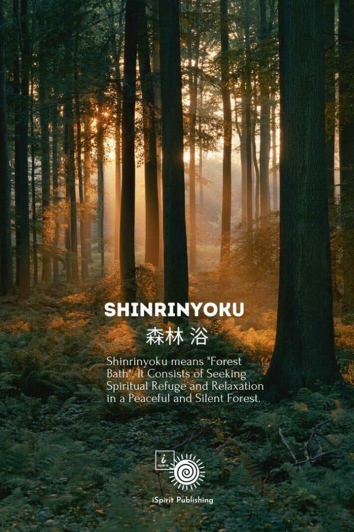 Poetic Japanese expressions-Shinrinyoku 森林 浴