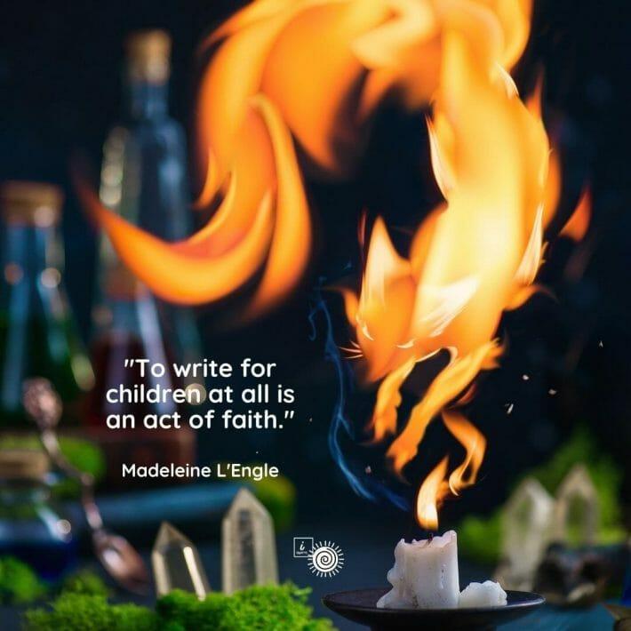 Children's book quote